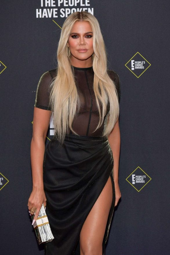 Khloe Kardashian – 2019 E! Peoples Choice Awards in Santa Monica