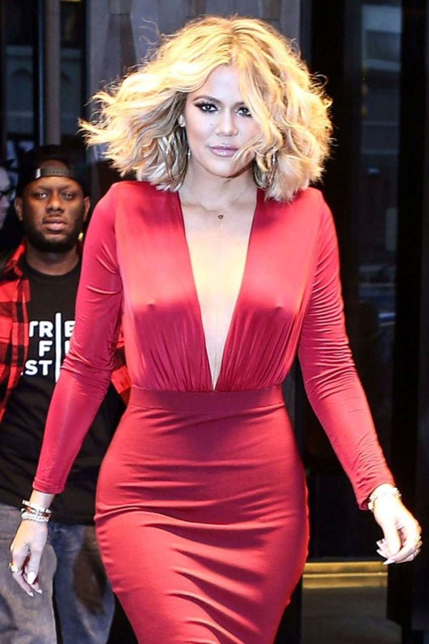 Khloe Kardashian - Arrives at Live! with Kelly and Michael in NYC
