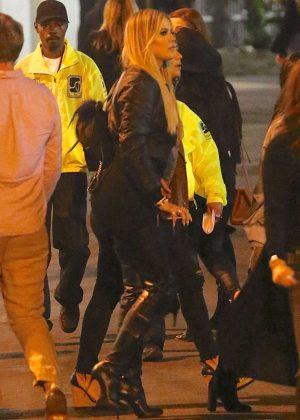 Khloe Kardashian at Beyonce Concert in Pasadena