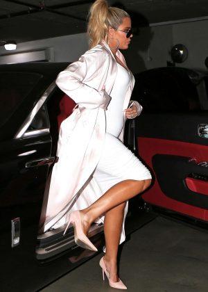 Khloe Kardashian at Catch LA in West Hollywood