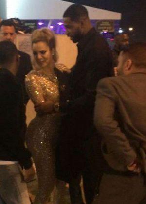 Khloe Kardashian at Club Space in Miami
