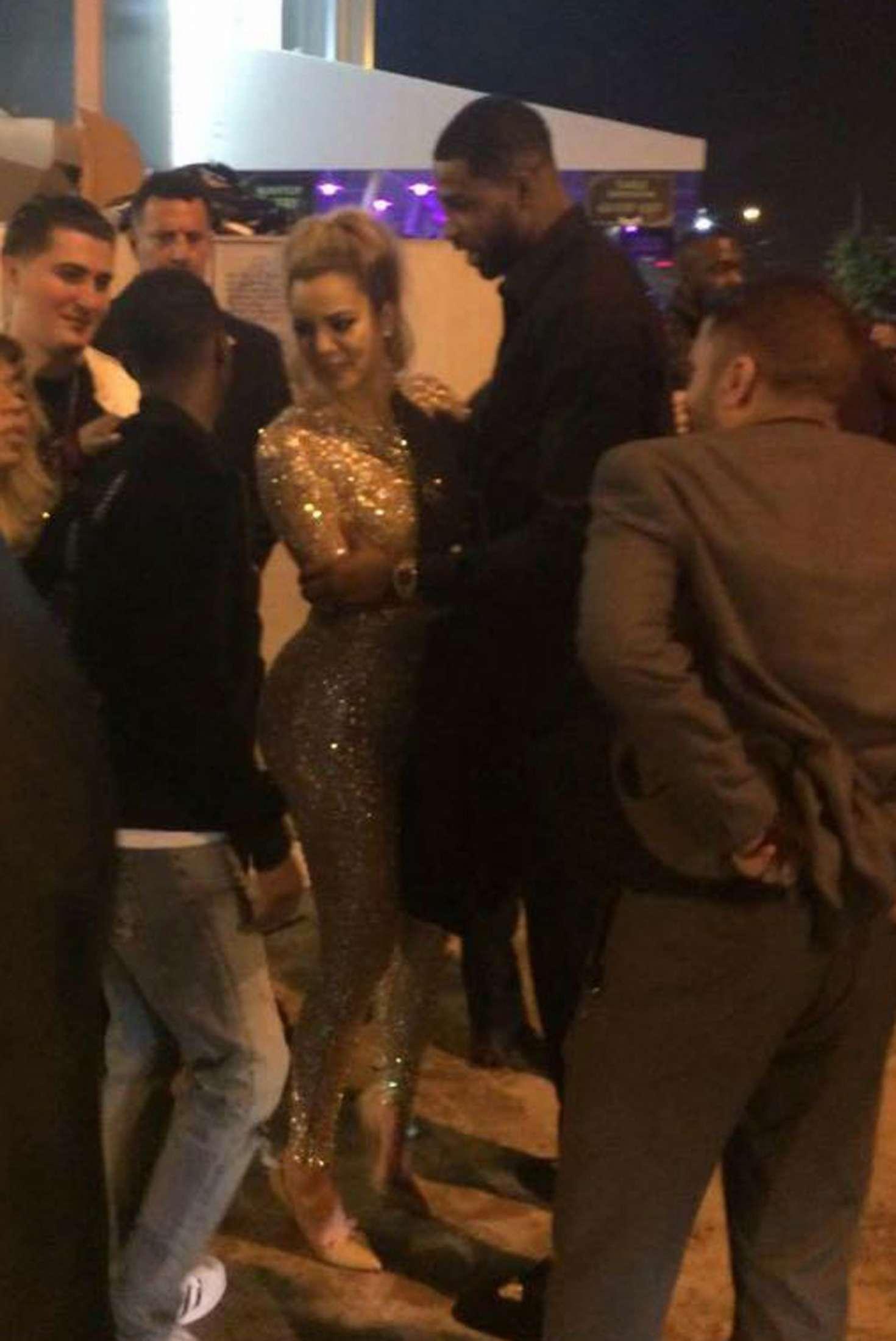 Khloe Kardashian 2017 : Khloe Kardashian at Club Space in Miami -03