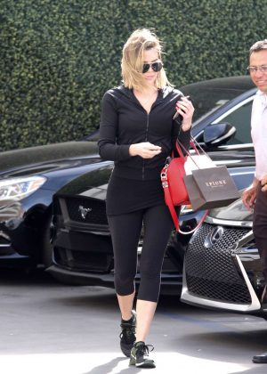 Khloe Kardashian at Epione in Los Angeles