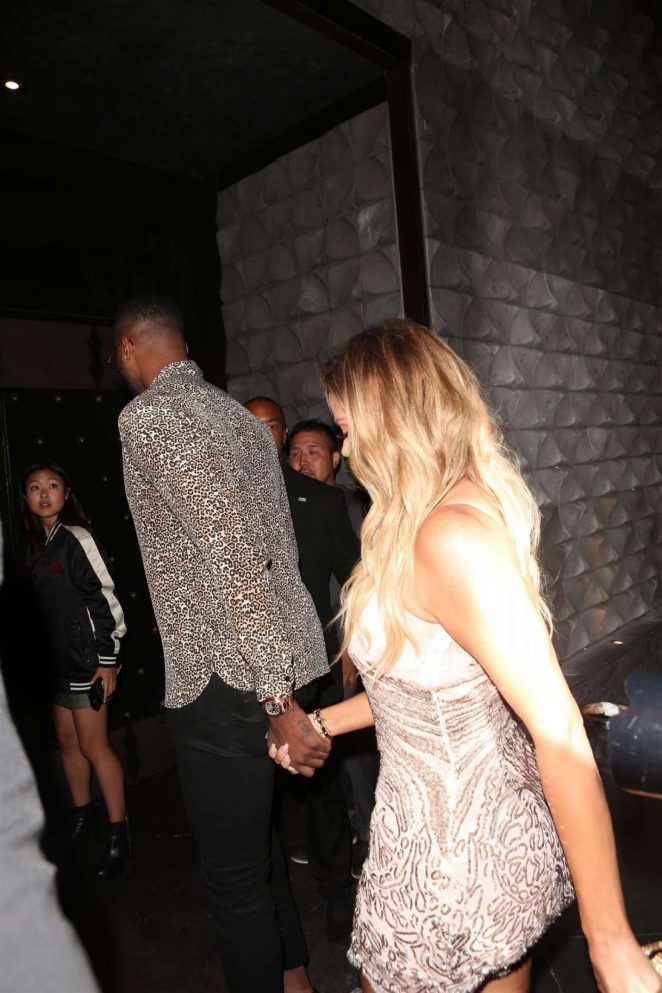 Khloe Kardashian at Her Surprise Birthday Party -08