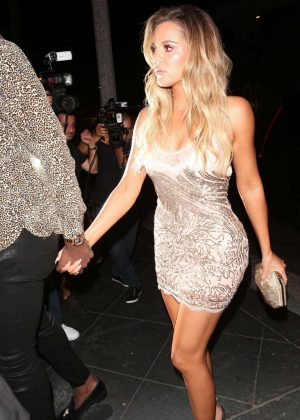 Khloe Kardashian at Her Surprise Birthday Party in Los Angeles