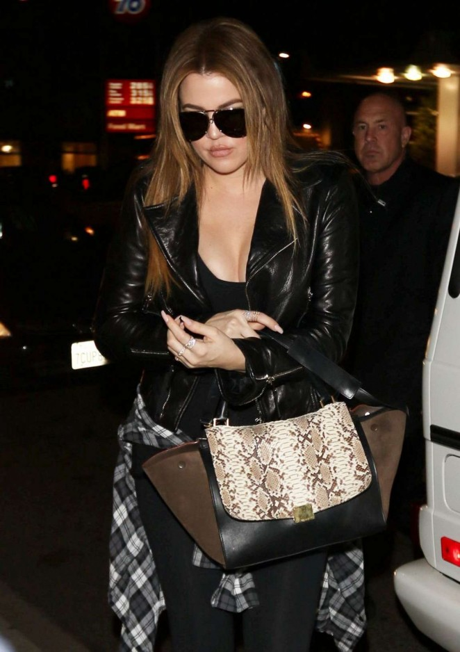 Khloe Kardashian at Jack N' Jill's Too in Los Angeles