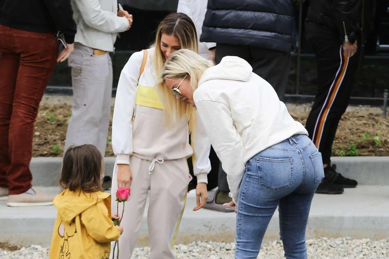 Khloe Kardashian 2019 : Khloe Kardashian at Kanye Wests Sunday church services-16
