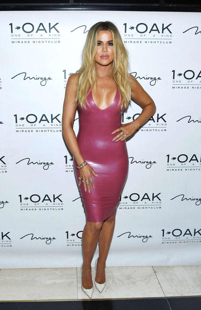 Khloe Kardashian at Scott Disick Birthday -05