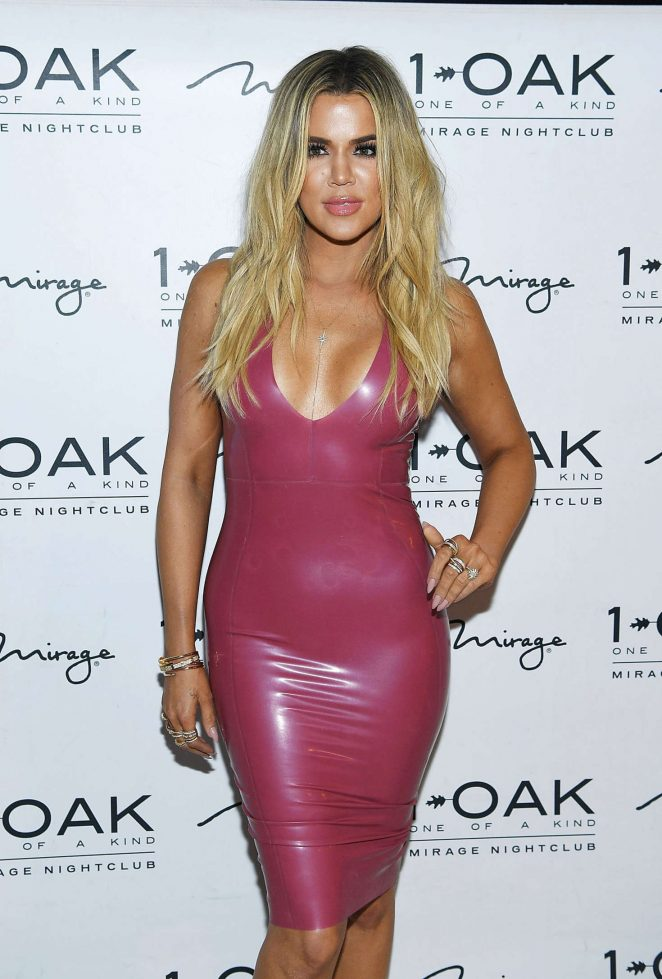 Khloe Kardashian at Scott Disick Birthday -11