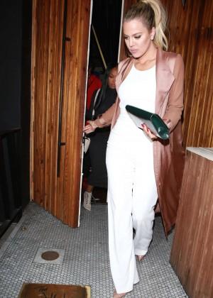 Khloe Kardashian at The Nice Guy in West Hollywood