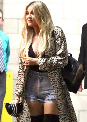 Khloe Kardashian Celebrates her 37th birthday in Hollywood
