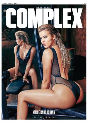 Khloe Kardashian: Complex Magazine 2015 -08