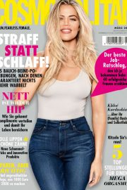 Khloe Kardashian - Cosmopolitan Magazine Germany March 2020