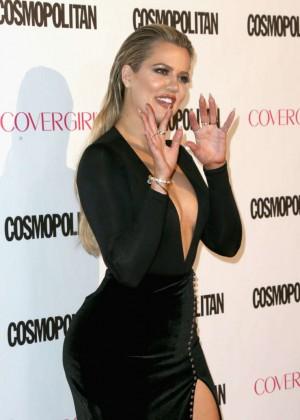 Khloe Kardashian - Cosmopolitan's 50th Birthday Celebration in West Hollywood