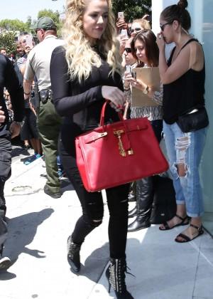 Khloe Kardashian - DASH Store in LA