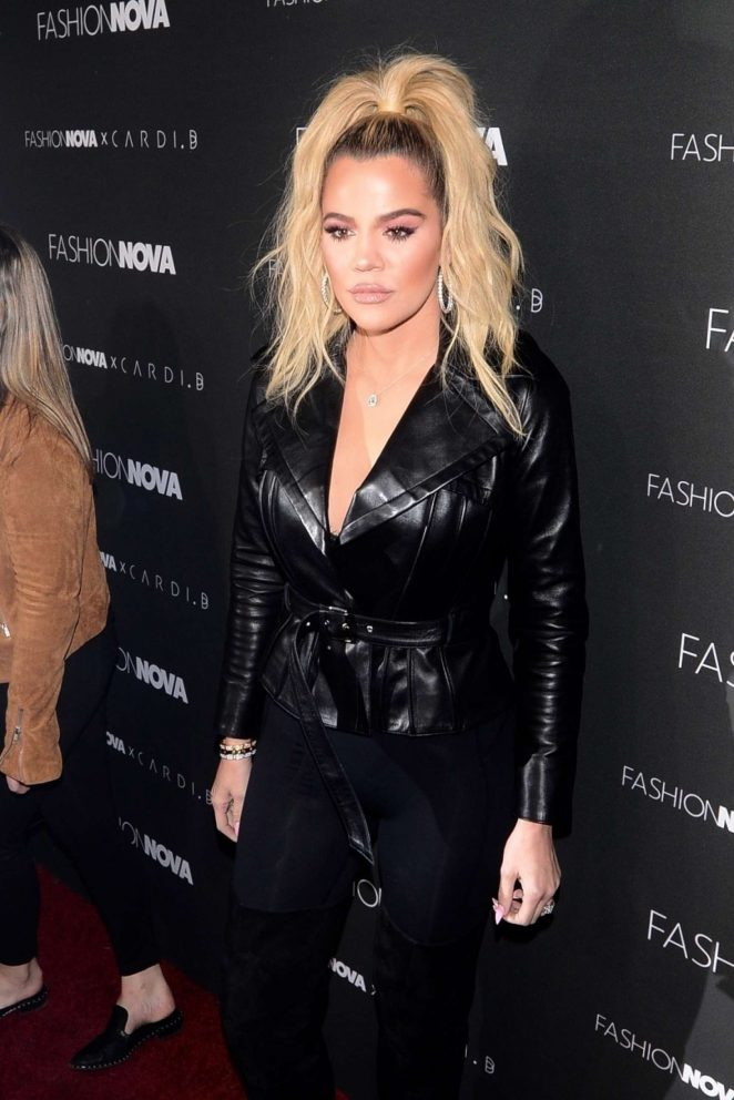 Khloe Kardashian - Fashion Nova x Cardi B Event in Hollywood