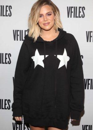 Khloe Kardashian - Good American Denim & VFILES Pop-Up in NYC