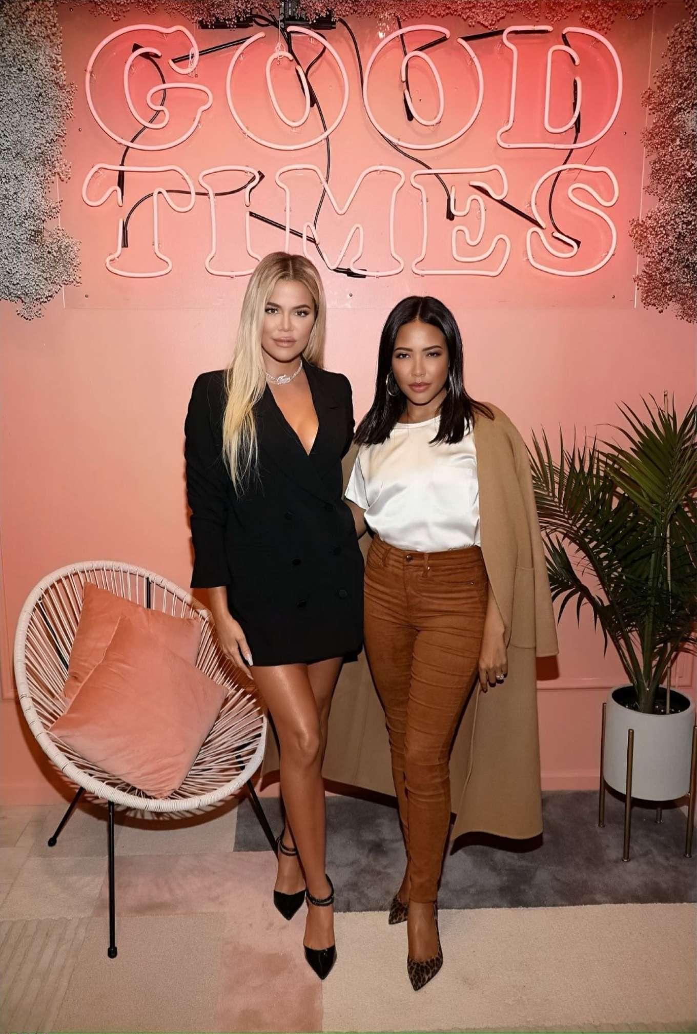 Khloe Kardashian 2019 : Khloe Kardashian – Good American Miami Launch Party-03