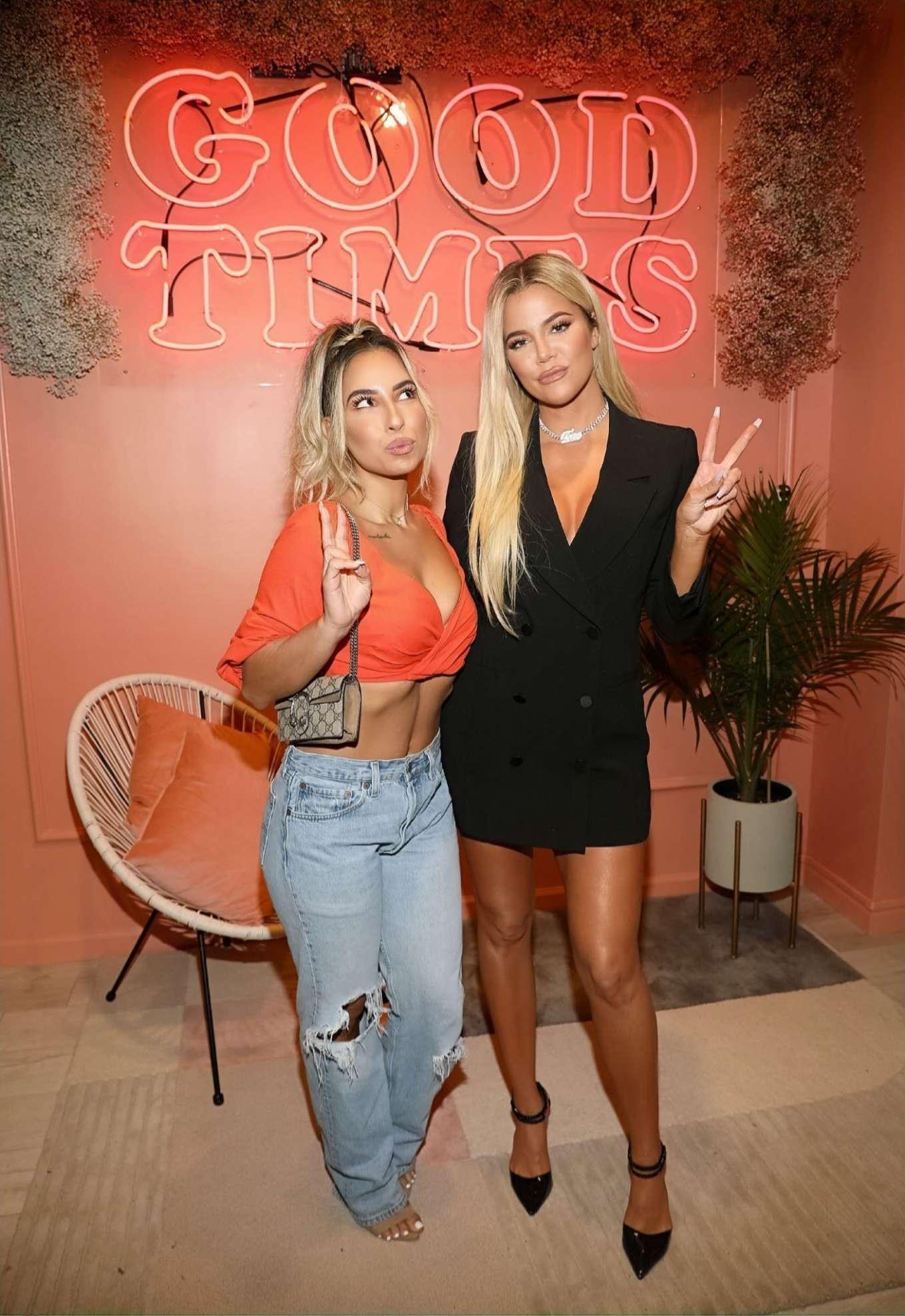 Khloe Kardashian 2019 : Khloe Kardashian – Good American Miami Launch Party-05