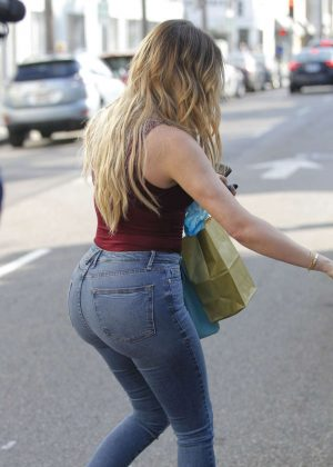 Khloe Kardashian in Tight Jeans Out in West Hollywood