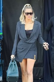 Khloe Kardashian - Leaves studio in Calabasas