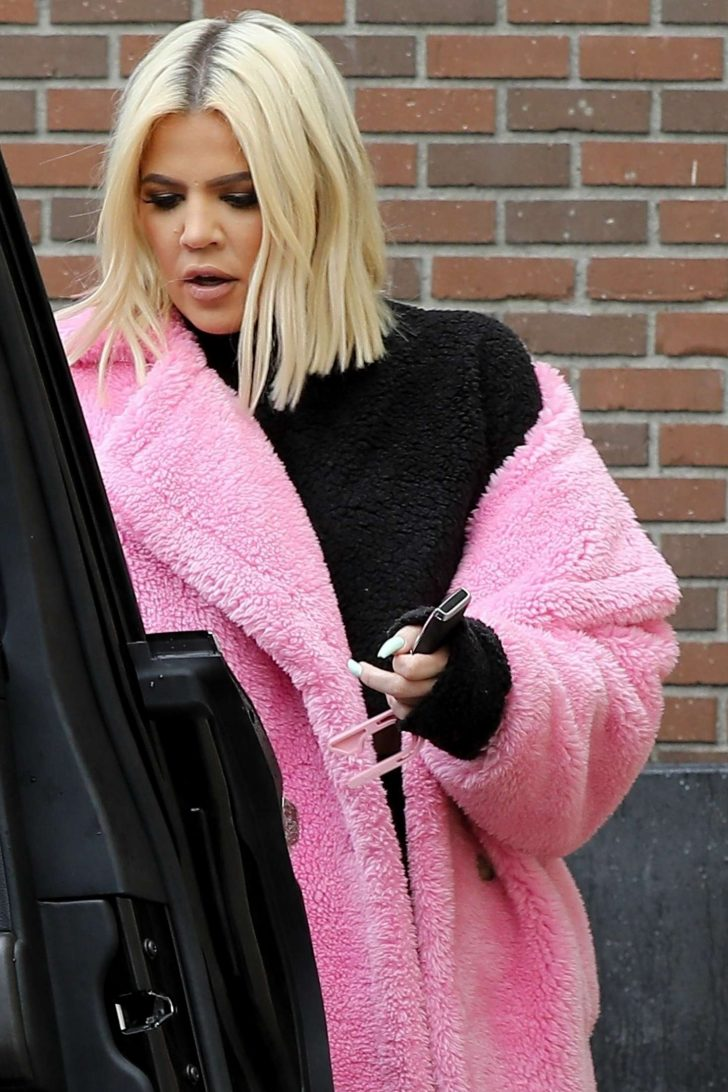 Khloe Kardashian - Leaving hair salon in Beverly Hills