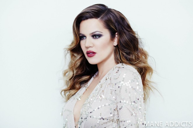 Khloe Kardashian - Mane Addicts Photoshoot 2015