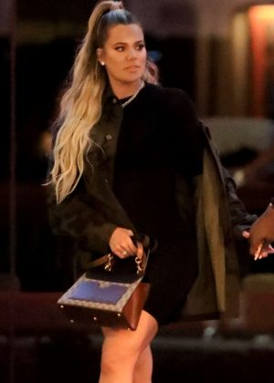 Khloe Kardashian - Night out in Beverly Hills