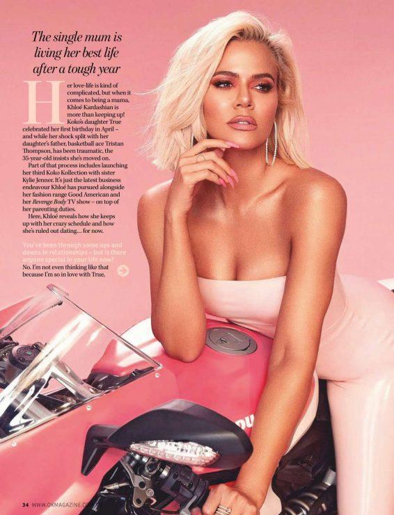 Khloe Kardashian - OK Australia Magazine (August 2019)
