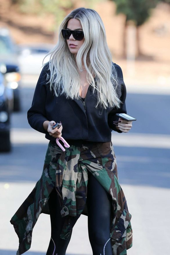 Khloe Kardashian - Out and about in Van Nuys