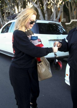 Khloe Kardashian out in Beverly Hills