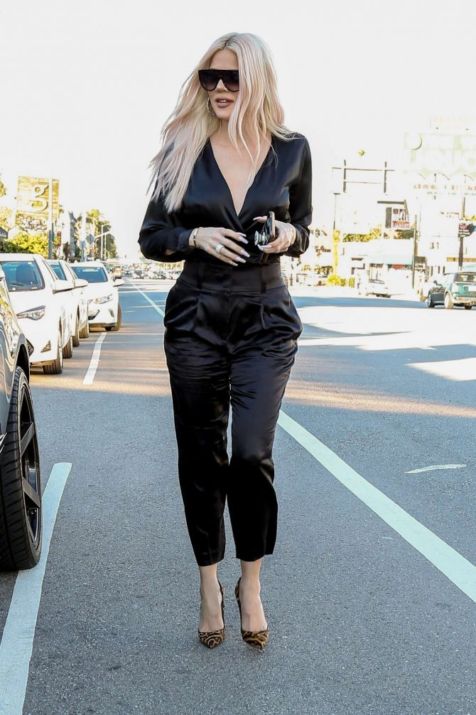 Khloe Kardashian - Out in Los Angeles