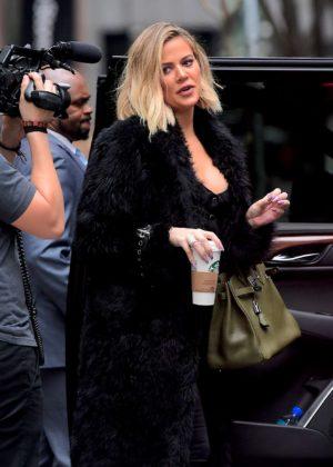 Khloe Kardashian - Out in NYC
