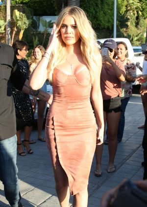 Khloe Kardashian out in San Diego
