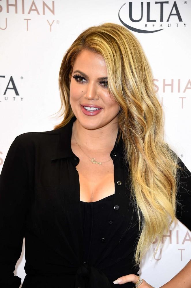 Khloe Kardashian - Promoting 'Kardashian Beauty' in West Hills