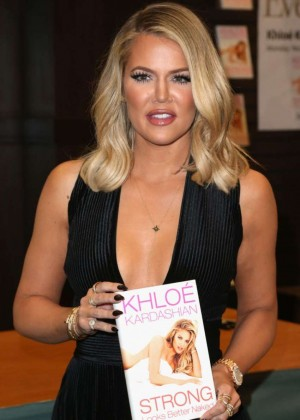 Khloe Kardashian - 'Strong Looks Better Naked' Book Signing in LA