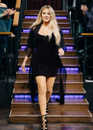 Khloe Kardashian - The Late Late Show with James Corden in Los Angeles