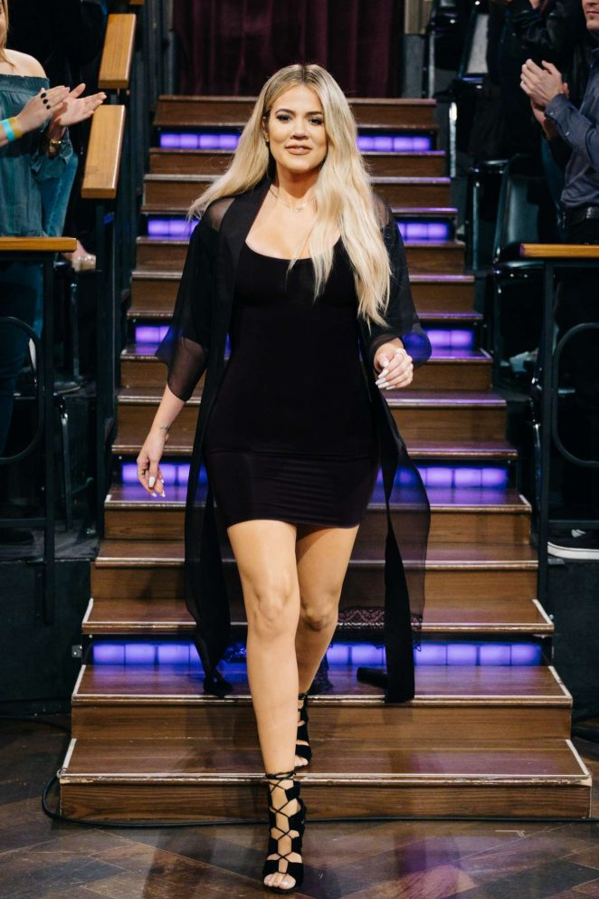 Khloe Kardashian – The Late Late Show with James Corden in Los Angeles