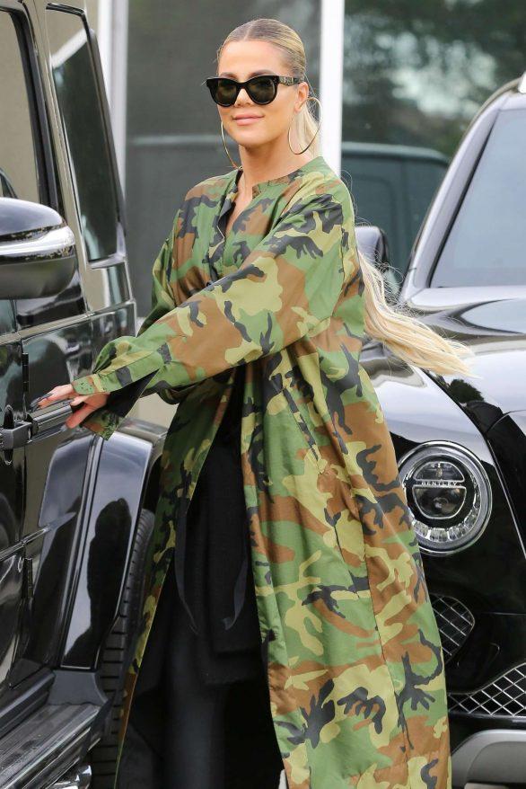 Khloe Kardashian - Visit her BFF Malika Haqq in Los Angeles