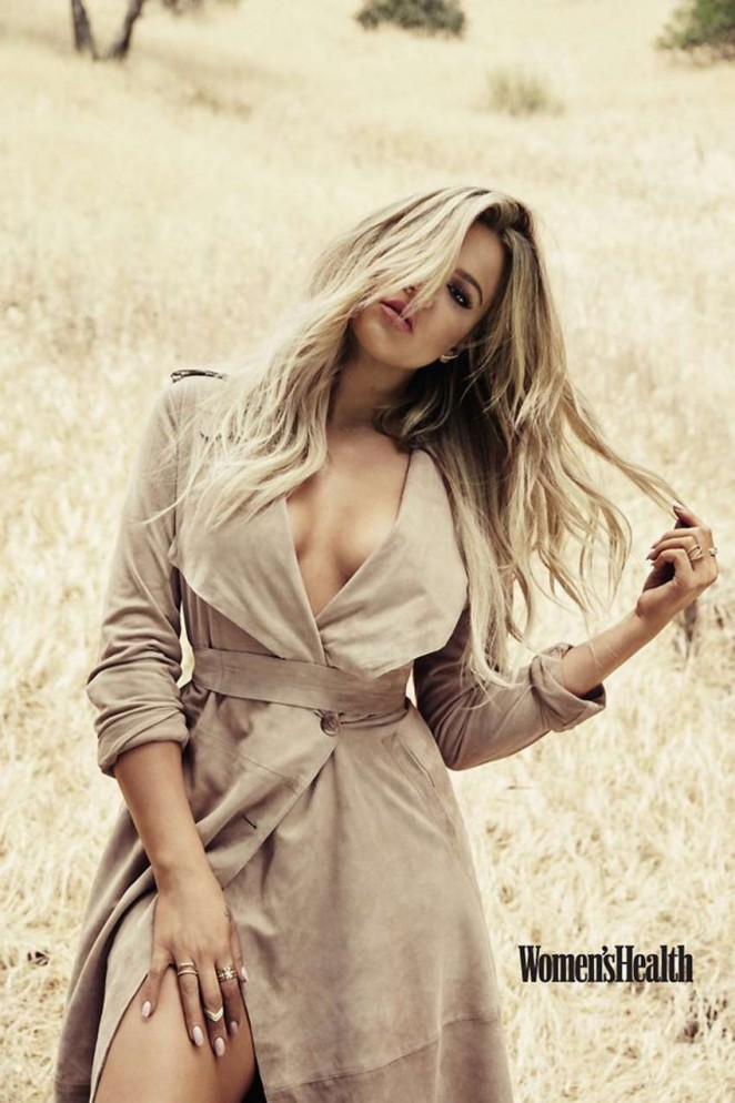 Khloe Kardashian - Women's Health Magazine (September 2015)