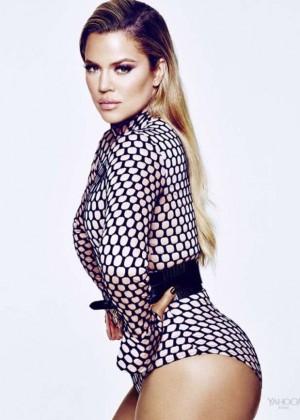 Khloe Kardashian - Yahoo Style Photoshoot