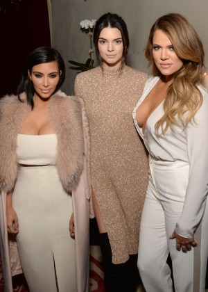 Khloe & Kim Kardashian & Kendall Jenner - Simon Huck's Command Entertainment Group Launch Party in NYC