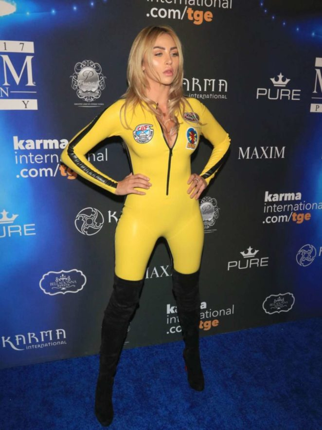 Khloe Terae - 2017 Maxim Halloween Party in Los Angeles