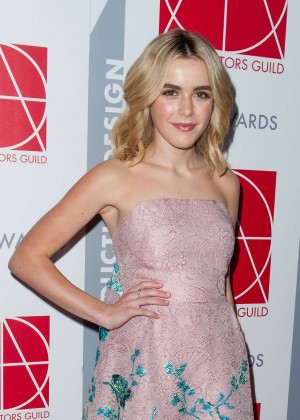 Kiernan Shipka - Art Directors Guild Excellence In Production Design Awards 2015 in Beverly Hills