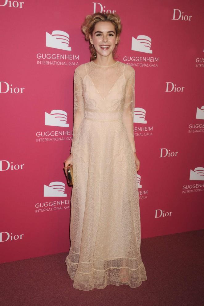 Kiernan Shipka - 2015 Guggenheim International Gala Dinner in NYC