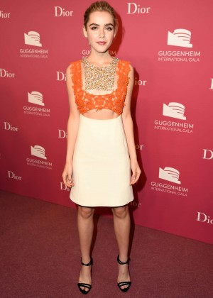 Kiernan Shipka - 2015 Guggenheim International Gala Pre-Party in NY
