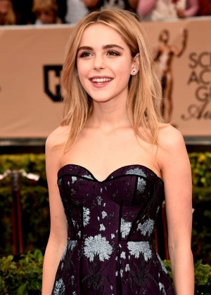Kiernan Shipka - 2016 SAG Awards in Los Angeles