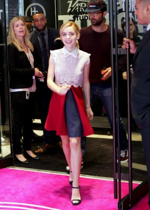 Kiernan Shipka at 2015 Toronto International Film Festival in Toronto