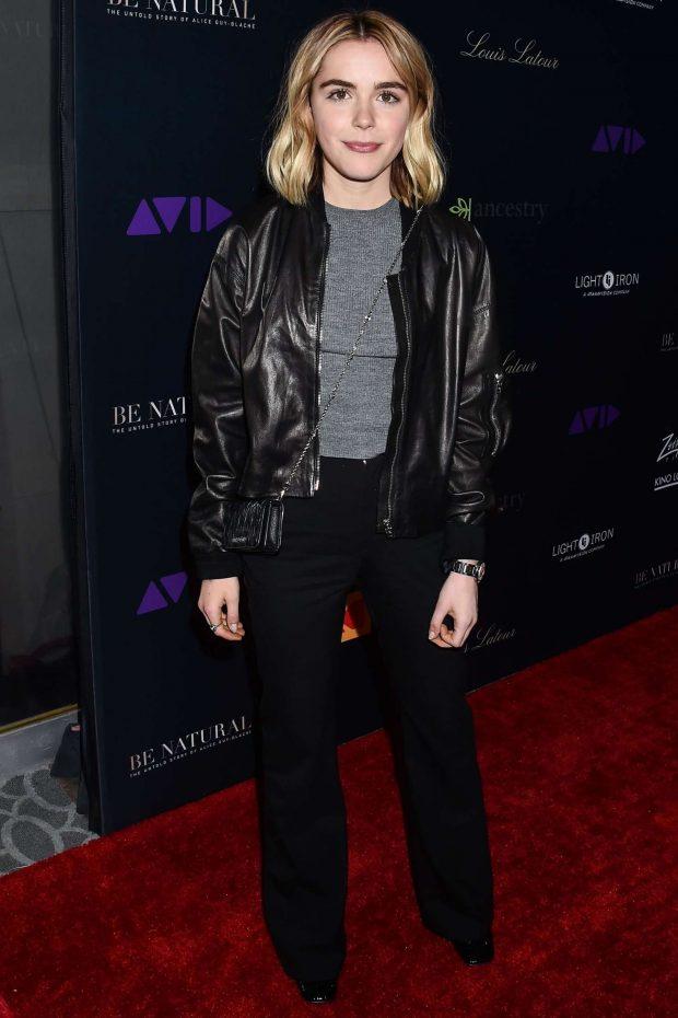 Kiernan Shipka - 'Be Natural: The Untold Story of Alice Guy-Blache' Premiere in LA