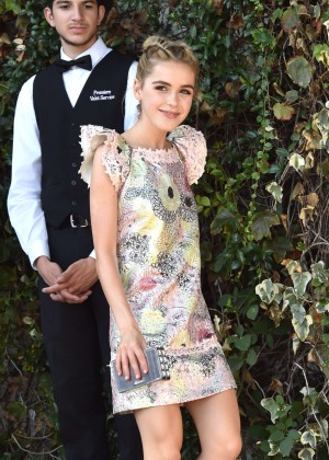 Kiernan Shipka - CFDA Vogue Fashion Fund Show and Tea in LA